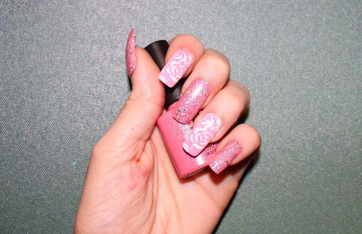 10 best Glitter design nails images on Pinterest | Nailart, Unique ...