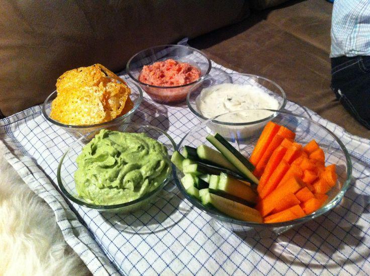 LCHF-HVERDAG: LCHF-nachos med hjemmelavet guacamole, salsa og creme fraiche dressing
