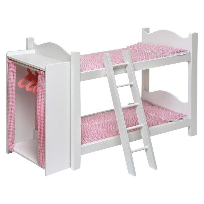 1000 Ideas About Doll Bunk Beds On Pinterest Doll Beds American Girl Furniture And American