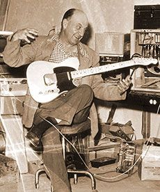 In 1951 Leo Fender introduced a prototype solid-body instrument that would eventually be called the Telecaster® guitar. The Tele®, as it was often called then and still is today, was the first solid-body Spanish-style electric guitar to be commercially mass-produced.