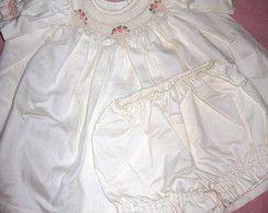 Vestido de Bebê 'Docinho'
