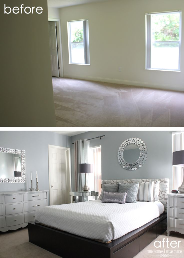 amazing before and after master bedroom reveal!