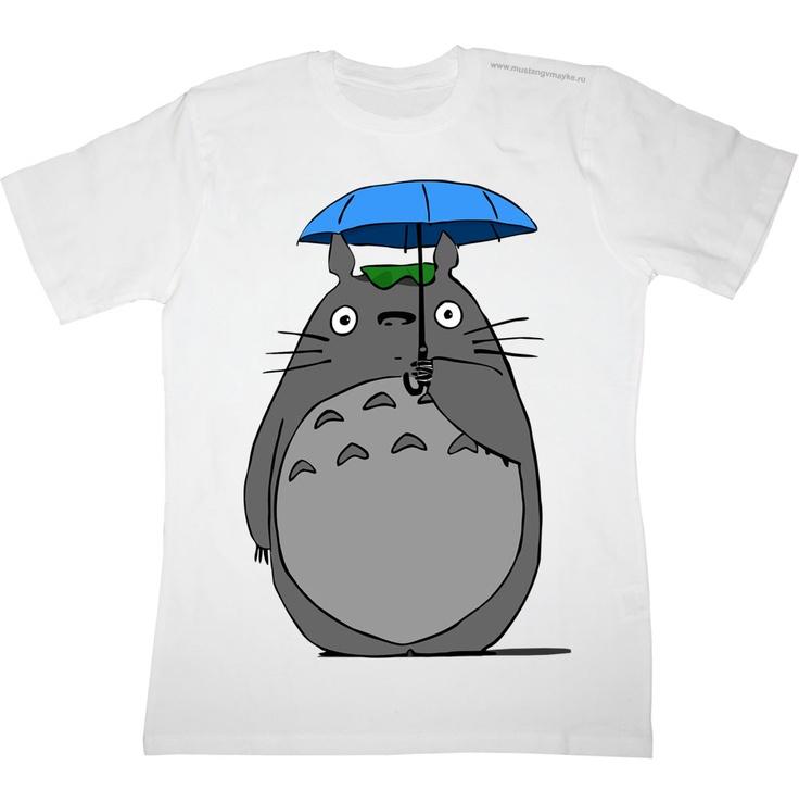 Тоторо под зонтиком