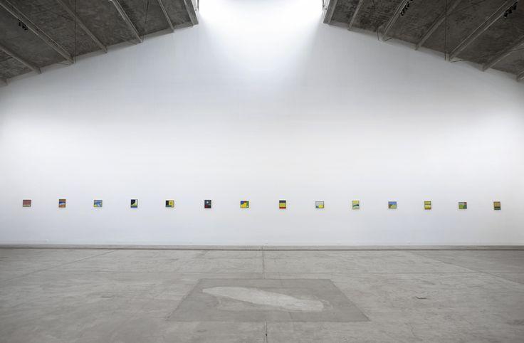 Etel Adnan, 2014, Galleria Continua Beijing. Photo by: Miguel Angel Emerico.