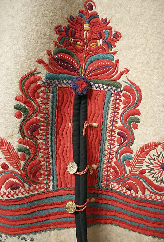 Coat Date: 1900–1939 Culture: Hungarian Medium: wool