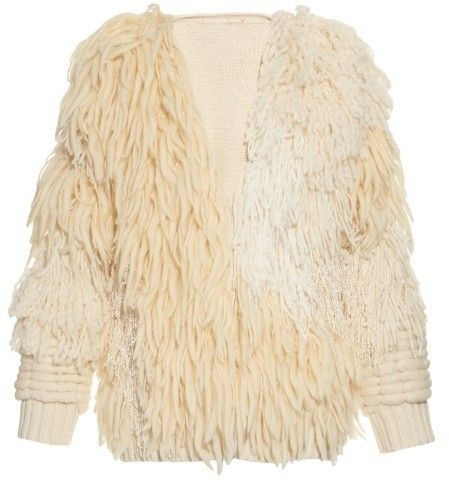 ADAM LIPPES Long-sleeved fringed bomber jacket