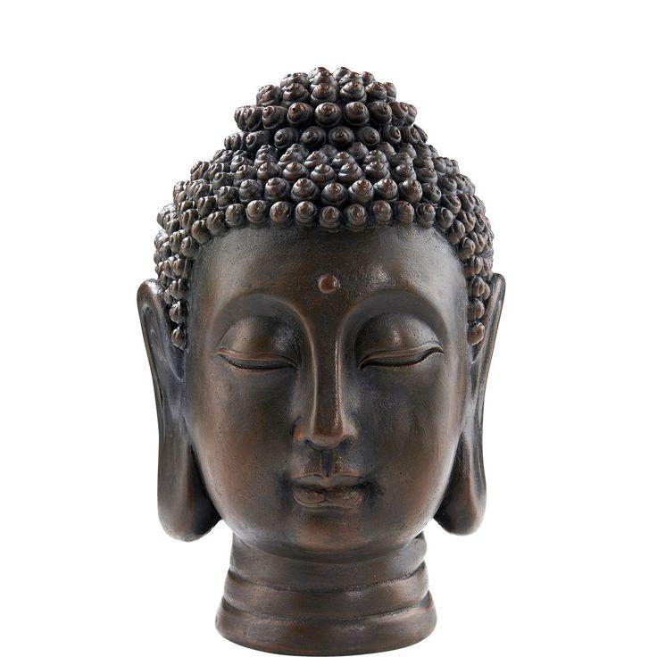 Mit tiefenentspannten Grüßen aus Fernost verbreitet die Buddha-Serie Harmonie und Ruhe in Ihrem Zuhause. Die dekorative Serie umfasst einen Buddha Teelichthalter, eine Buddha Schale mit Teelichthalter und einen Buddha Kopf.