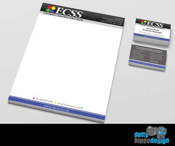 Business stationery pack for ECSS
