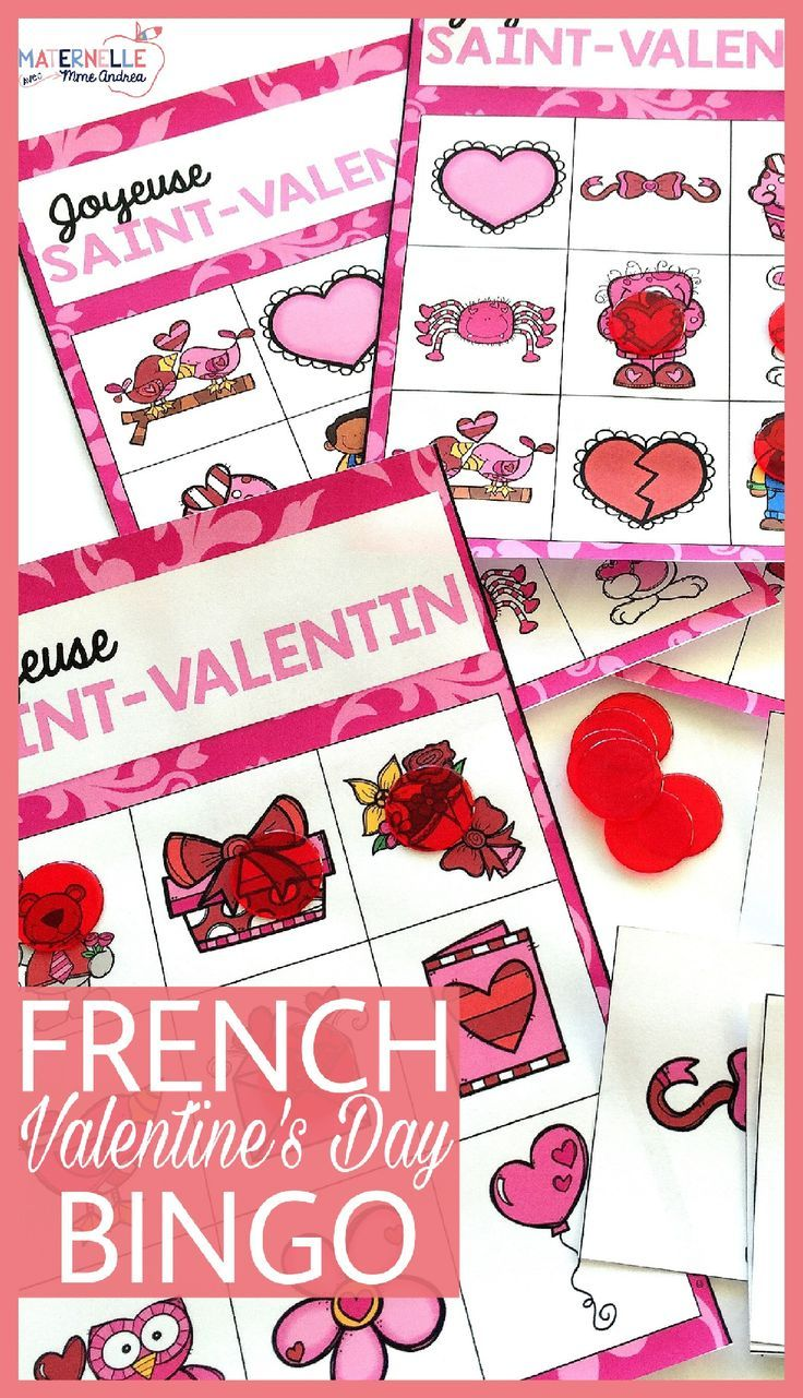 An adorable Valentine's Day bingo game that is perfect for practicing and reviewing French vocabulary! 26 bingo cards in all and 26 words are practiced.