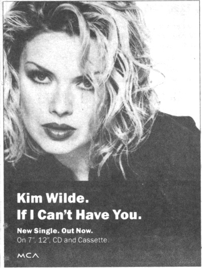 'If I can't have you' UK advert, 1993