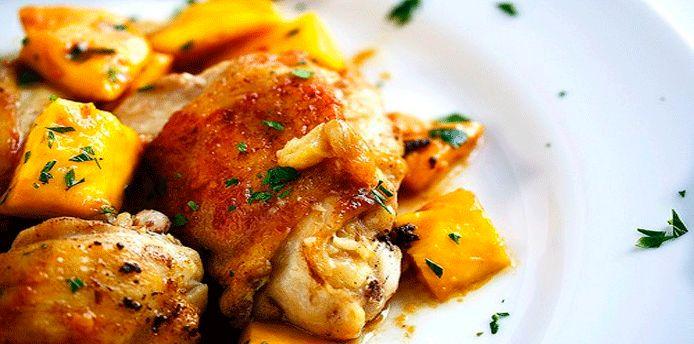 Pollo con mango casero, aprende a preparar esta fácil y  deliciosa receta con un sabor agridulce, con el cual sorprenderá a toda la familia.