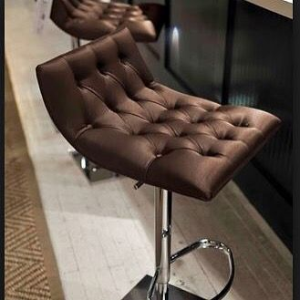 Stunning deep buttoned Italian Club bar stools see the whole collection at www.sovereigninteriors.com.au #luxury #homedecor #luxuryhome #modernliving #contemporary #interiordesign