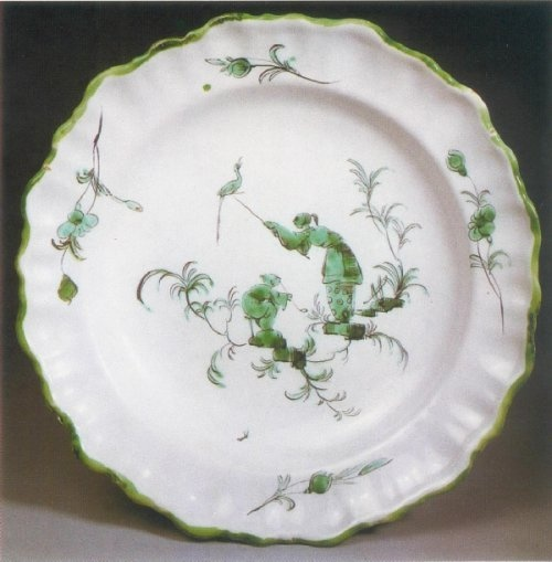 assiette creuse attribu 233 e 224 la fabrique ferrat moustiers sainte vers 1760 fa 239 ence