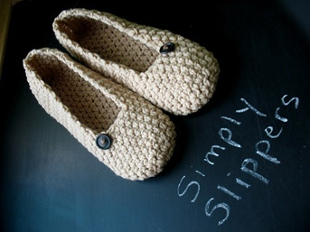knitted ballet slippers I'm thinking in a color other than oatmeal