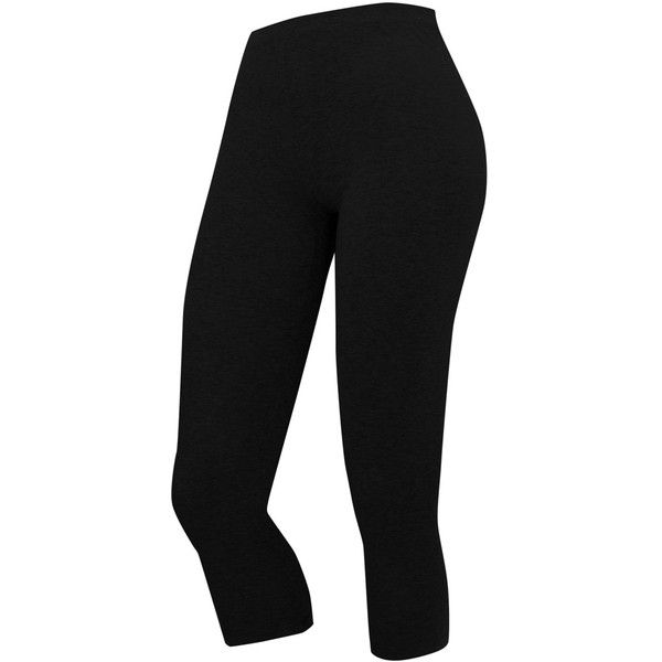 Cropped Legging ($3) ❤ liked on Polyvore featuring pants, leggings, bottoms, gym, jeans/pants, stretch waist pants, elastic waistband pants, elastic waist pants, crop pants and cropped leggings