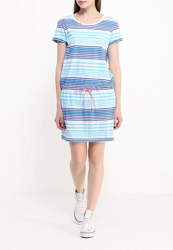 Платье спортивной марки Helly Hansen выполнено из мягкого материала в полоску. Модель прямого кроя. Регулируемый шнурок чуть ниже талии http://fas.st/H1CU08