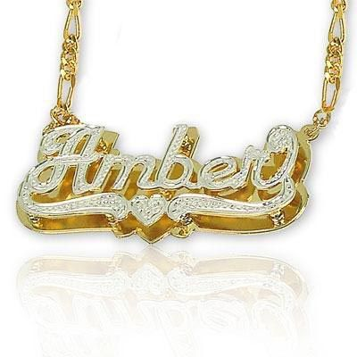 1000 Images About Name Plate Jewelry On Pinterest
