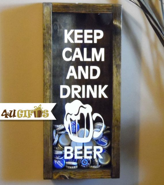 Father's Day Gift Idea Keep Calm and Drink Beer!