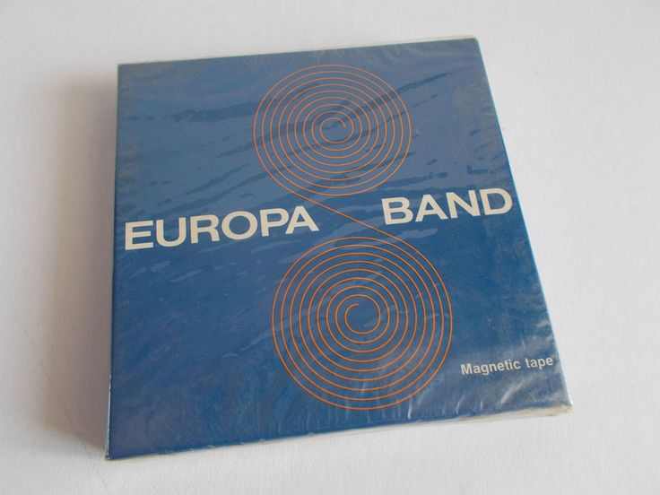 RARE EUROPA BAND MAGNETIC RECORDING TAPE 1200'/360M ~BRAND NEW~ #EUROPABAND