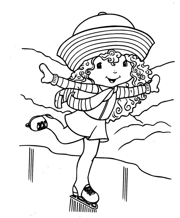 The 141 best Strawberry Shortcake coloring pages images on Pinterest ...