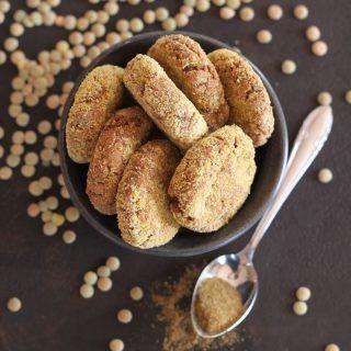 Lencse falafel sütőben sütve - #gluténmentes #vegán recept  mindenmentes.hu