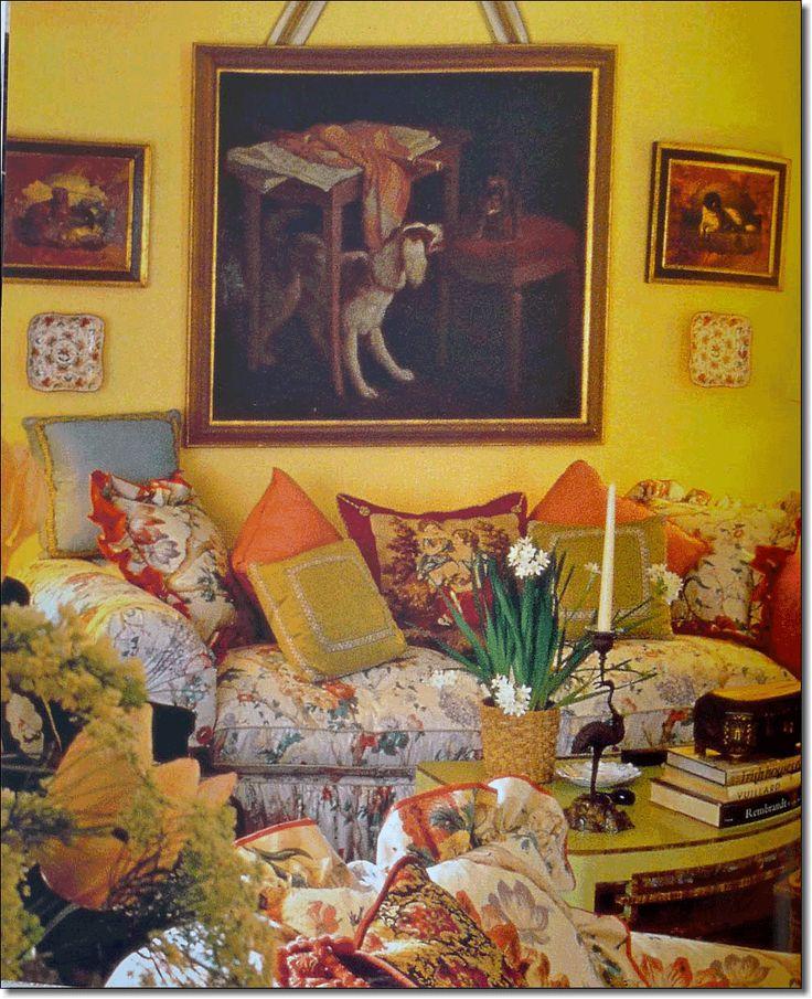 interior Design Keith Irvine, Photo by Karen Radki, Drawing Room of Mr. & Mrs. Rotenstreich