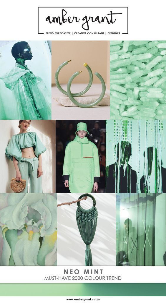 Tendencia Neo Menta Trend Neo Mint 2020 Coolhunting