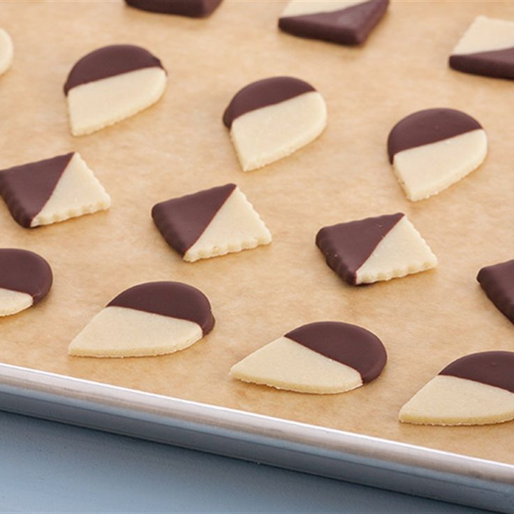 Try this Chocolate Dipped Marzipan recipe by Chef Anna Olson. This recipe is from the show Bake With Anna.