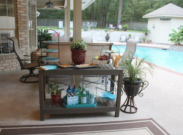 Best 20 Outdoor Buffet Ideas On Pinterest Industrial