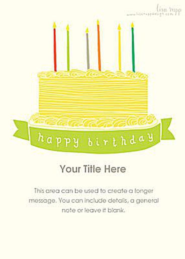 Free Birthday Ecards 20 Top Picks Cake By Lisa Rupp