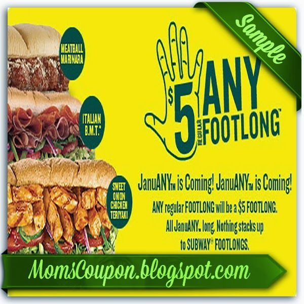 printable Subway coupons 20 off 2015