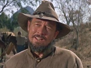 Ben Johnson in ''Major Dundee''  1965