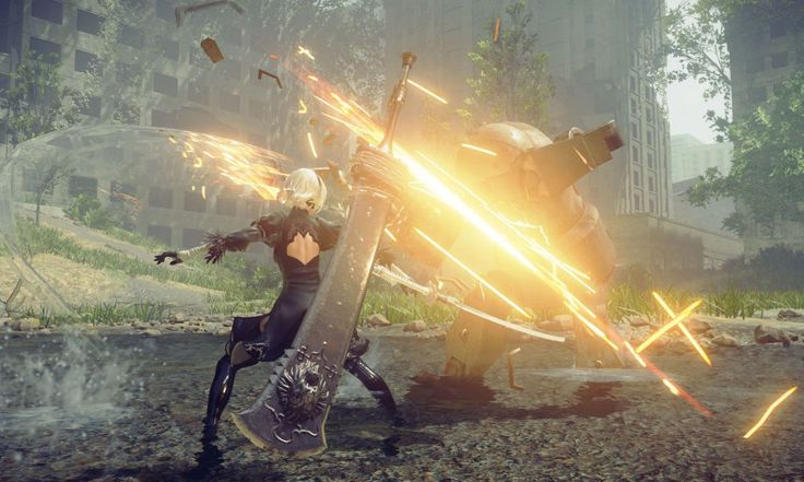 29 minutos de gameplay de NieR: Automata