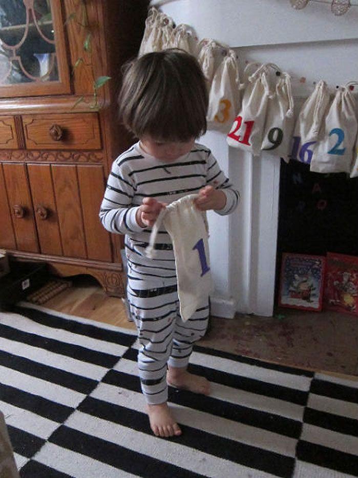 Little House Blog: Mommy Week - DIY Advent for Children