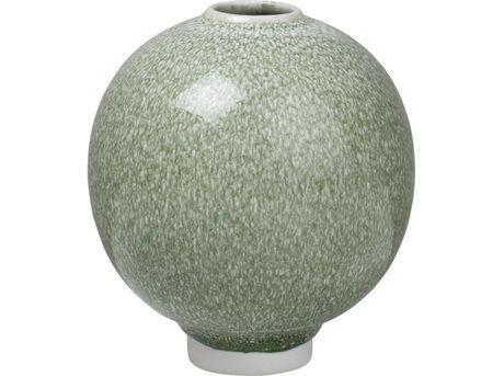 Mosgrøn vase fra Kähler Unica