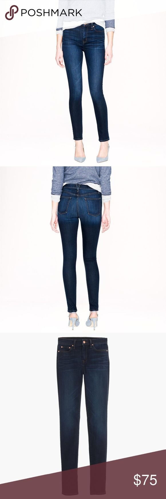 J Crew- Point Sur Denim J Crew Point Sur Denim, new with tags. Style #A4449 J Crew Jeans Skinny