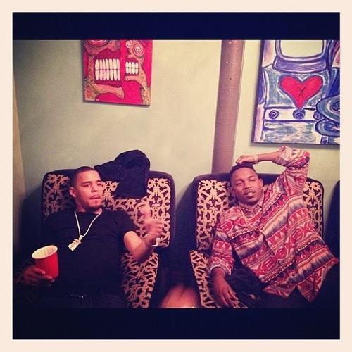 J. Cole & Kendrick Lamar <3