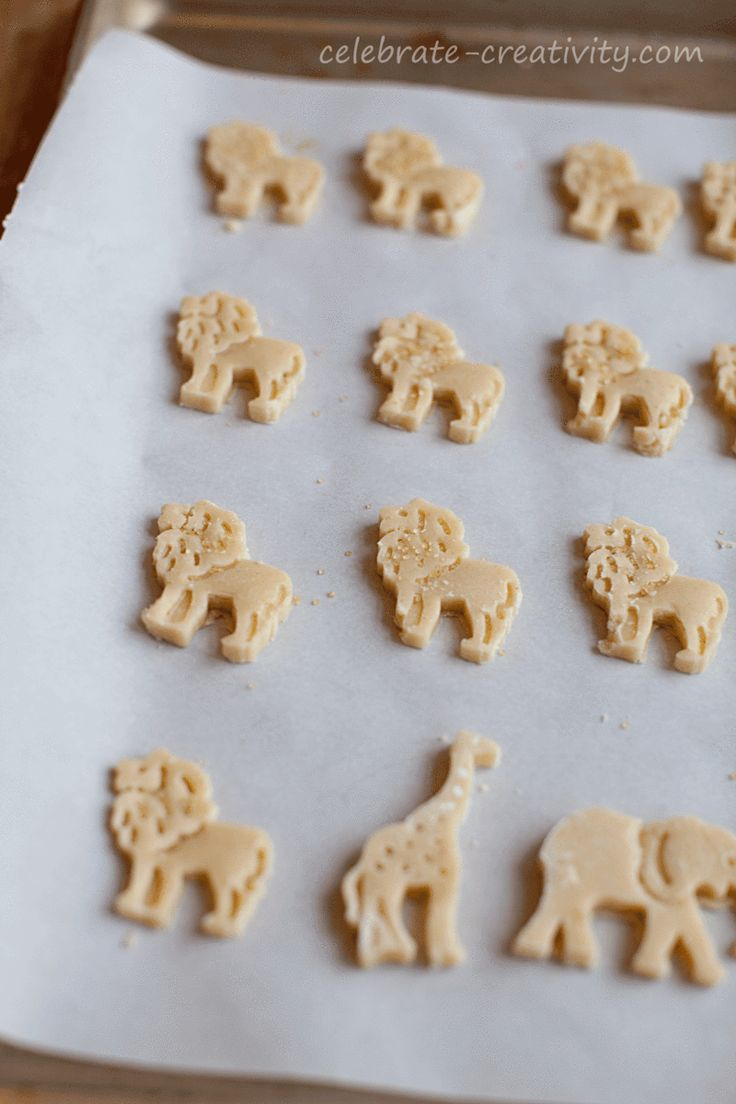 Animal-Cracker Cookies Recipes — Dishmaps