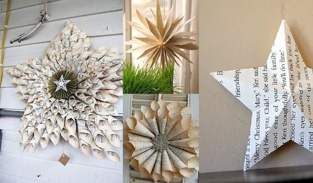 Brocante: Inspiration Noël : déco de sapin upcycling DIY#2