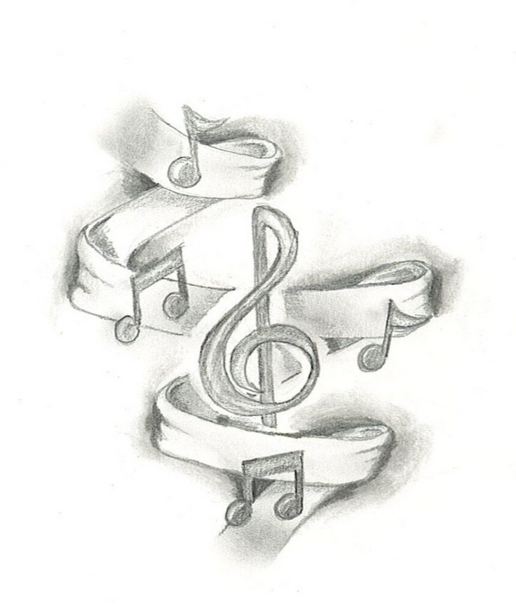 Music drawing