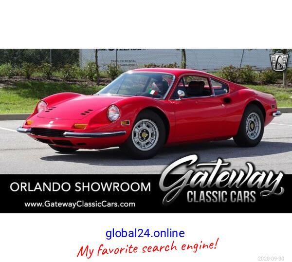 1972 Ferrari Dino 246 Gt Ferrari Ferrari California T Ferrari 348