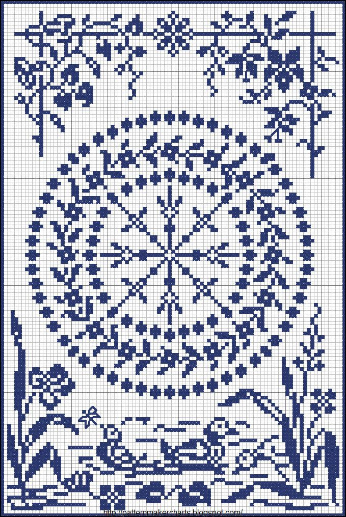 # cross stitch ♥ #Afs 1/5/13 Free Easy Cross, Pattern Maker, PCStitch Charts + Free Historic Old Pattern Books: PCStitch