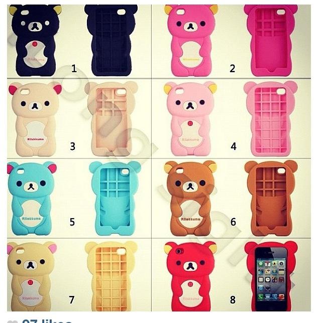 Teddy bear phone cases I want #6