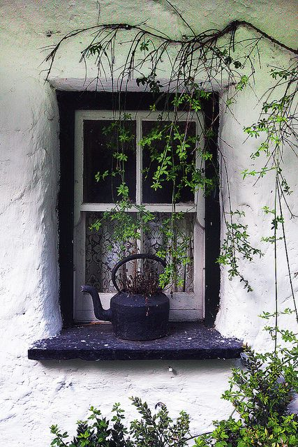 Window. Irish Cottage. | Flickr - Photo Sharing!  Steve Evans