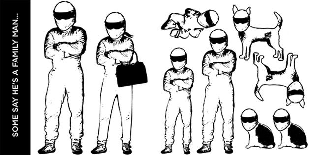 Stig family stickers.. at one time got us on autoblog.. please.. feel free to repost them to your highly trafficked automotive related website :)