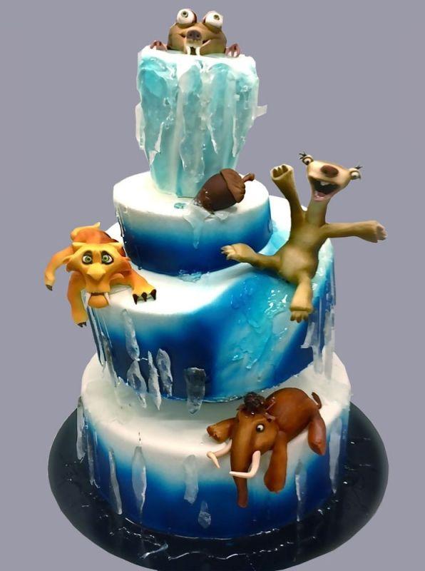 """Торт """"Ледниковый период"""" №4069"""