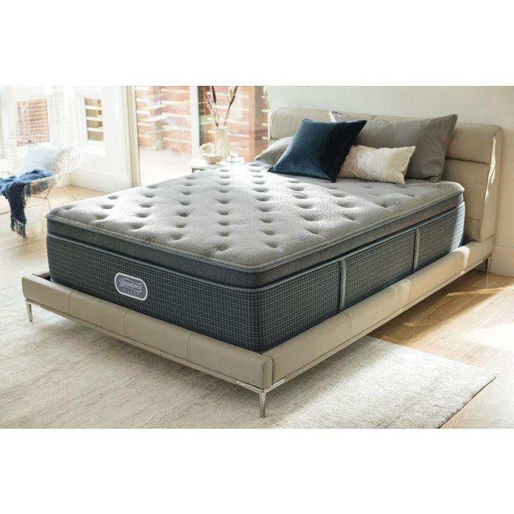 Santa Barbara Cove California King Luxury Firm Pillow Top Low Profile Mattress Set