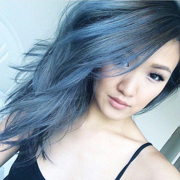 @weylie bluey grey dream #colorbydae #silverhair # ...