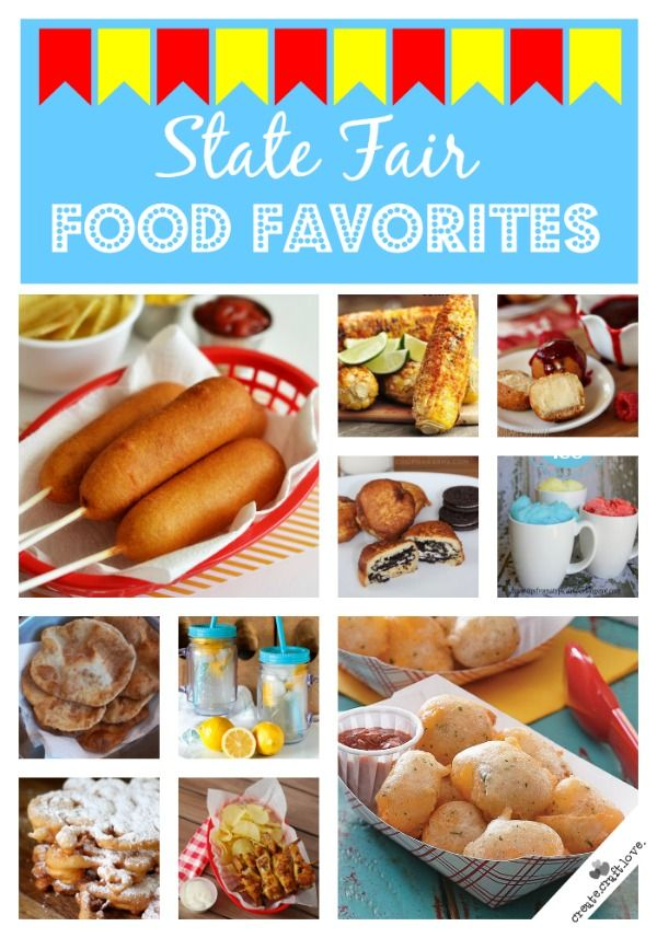 Love state fair food but don't want to go to the fair?  No worries!  I've got you covered!  via createcraftlove.com