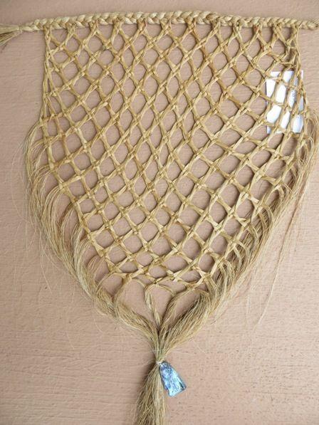 Flax Weaving - Wall hanging with kupenga knot